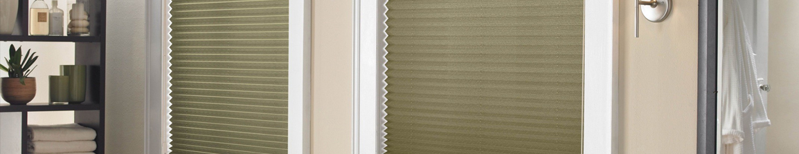 Pleated Shades in San Antonio, Boerne, and New Braunfels, Texas (TX) with Modern Colors and Patterns