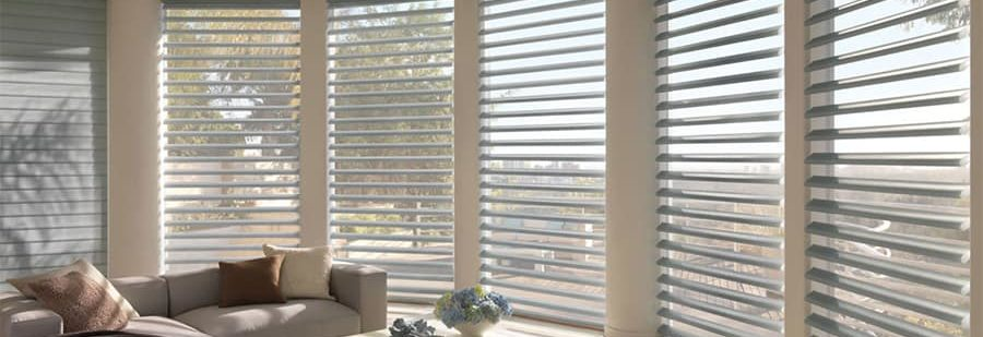 Let Natural Light into Your Home Near San Antonio, Texas with Pirouette Shadings for Living Rooms