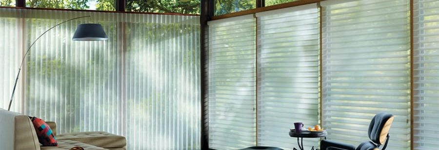 Sliding Glass Door Solutions for Homes Near San Antonio, Texas (TX) like Luminette Privacy Sheers