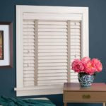 Gallery of Custom Window Treatments Near San Antonio, Texas (TX) like Bedroom EverWood Alternative Wood Blinds
