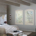 Gallery of Custom Window Treatments Near San Antonio, Texas (TX) like NewStyle Hybrid Shutters for Bedrooms