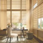 Gallery of Custom Window Treatments Near San Antonio, Texas (TX) like Vignette Modern Roman Shades